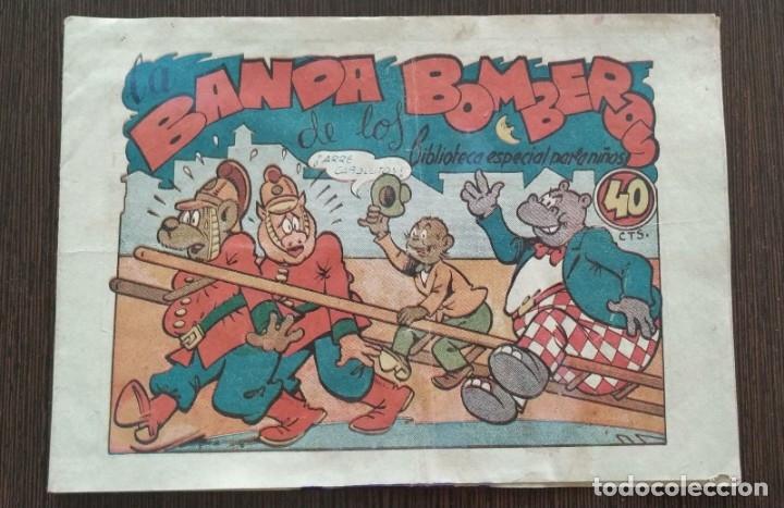 LA BANDA DE LOS BOMBEROS. BIBLIOTECA ESPECIAL PARA NIÑOS. RARO. (Tebeos y Comics - Marco - Hipo (Biblioteca especial))