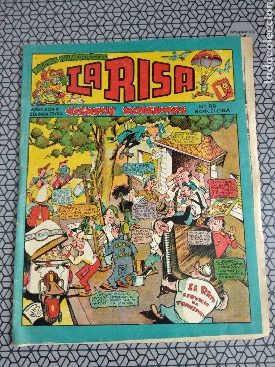 COMIC TEBEO LA RISA NÚM 98 (Tebeos y Comics - Marco - La Risa)