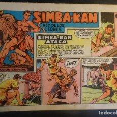 Tebeos: ANTIGUO COMIC SIMBA-KAN REY DE LOS LEONES Nº 11 COLECCION CHEYENE MARCO 1959, VER FOTOS. Lote 175623108