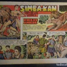 Tebeos: ANTIGUO COMIC SIMBA-KAN REY DE LOS LEONES Nº 16 COLECCION CHEYENE MARCO 1959, VER FOTOS. Lote 175623713