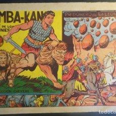 Tebeos: ANTIGUO COMIC SIMBA-KAN REY DE LOS LEONES Nº 34 COLECCION CHEYENE MARCO 1959, VER FOTOS. Lote 175624925