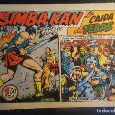 Tebeos: ANTIGUO COMIC SIMBA-KAN REY DE LOS LEONES Nº 51 COLECCION CHEYENE MARCO 1959, VER FOTOS. Lote 175625733