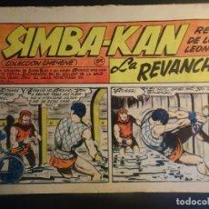 Tebeos: ANTIGUO COMIC SIMBA-KAN REY DE LOS LEONES Nº 59 COLECCION CHEYENE MARCO 1959, VER FOTOS. Lote 175626329