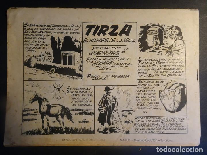 Tebeos: ANTIGUO COMIC SIMBA-KAN REY DE LOS LEONES Nº 59 COLECCION CHEYENE MARCO 1959, VER FOTOS - Foto 3 - 175626329