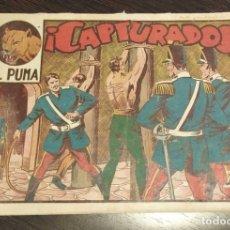 Tebeos: EL PUMA, CAPTURADOS. NUMERO 33. ORIGINAL. . Lote 176174463