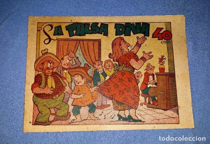 LA FALSA DIVA EDITORIAL MARCO BIBLIOTECA ESPECIAL PARA NIÑOS AÑOS 40 ORIGINAL VER FOTO Y DESCRIPCION (Tebeos y Comics - Marco - Hipo (Biblioteca especial))