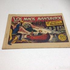 Tebeos: LOS NIÑOS AVENTUREROS - EL LADRON DE MEDIDA NOCHE - AÑOS 40. Lote 177408760