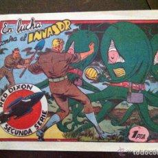 Tebeos: RED DIXON -EN LUCHA CONTRA EL INVASOR. Lote 177720813
