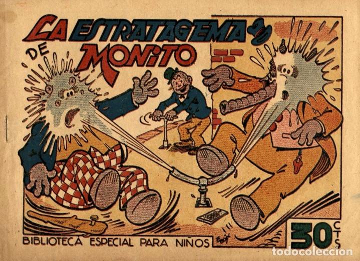 HIPO, MONITO Y FIFÍ: LA ESTRATAGEMA DE MONITO (MARCO, 1943) DE E. BOIX (Tebeos y Comics - Marco - Hipo (Biblioteca especial))