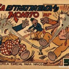 Tebeos: HIPO, MONITO Y FIFÍ: LA ESTRATAGEMA DE MONITO (MARCO, 1943) DE E. BOIX. Lote 177989434