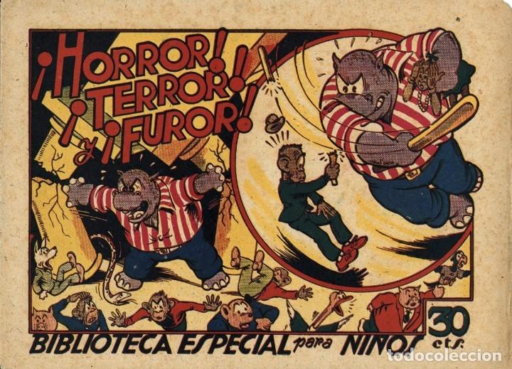 HIPO, MONITO Y FIFÍ: HORROR, TERROR Y FUROR (MARCO, 1943) DE E. BOIX (Tebeos y Comics - Marco - Hipo (Biblioteca especial))