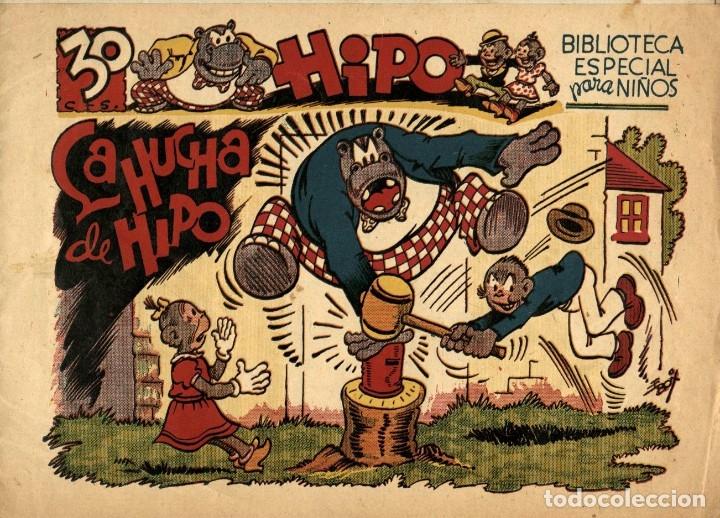 HIPO, MONITO Y FIFÍ: LA HUCHA DE HIPO (MARCO, 1943) DE E. BOIX (Tebeos y Comics - Marco - Hipo (Biblioteca especial))