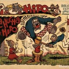 Tebeos: HIPO, MONITO Y FIFÍ: LA HUCHA DE HIPO (MARCO, 1943) DE E. BOIX. Lote 177989699