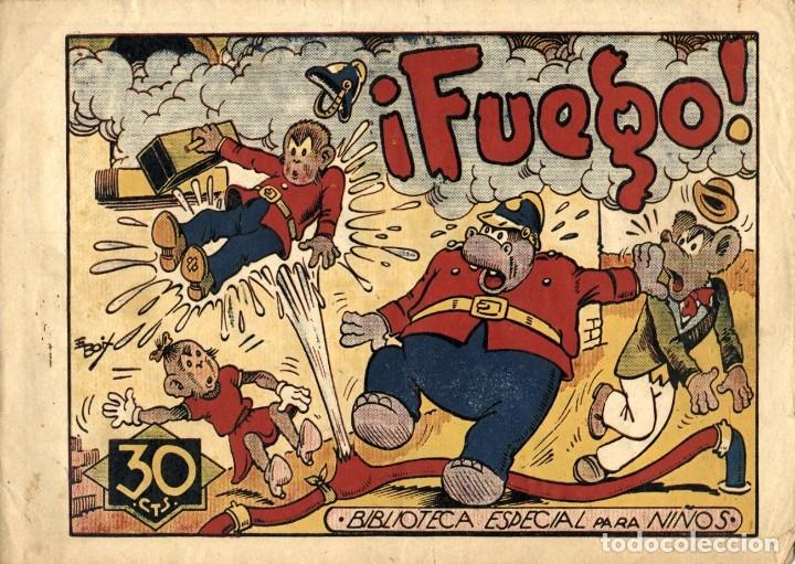 HIPO, MONITO Y FIFÍ: ¡FUEGO! (MARCO, 1943) DE E. BOIX (Tebeos y Comics - Marco - Hipo (Biblioteca especial))