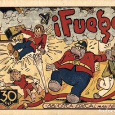 Tebeos: HIPO, MONITO Y FIFÍ: ¡FUEGO! (MARCO, 1943) DE E. BOIX. Lote 177990009