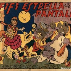 Tebeos: HIPO, MONITO Y FIFÍ: FIFÍ ESTRELLA DE LA PANTALLA (MARCO, 1943) DE E. BOIX. Lote 177990395