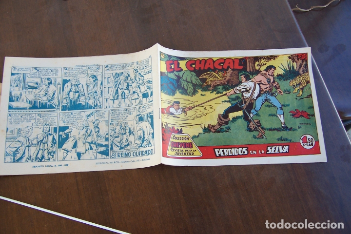 MARCO,- EL CHACAL Nº 15 INTONSO (Tebeos y Comics - Marco - Otros)