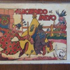 Tebeos: MARCO,- ACROBÁTICA INFANTIL Nº HACIENDO EL INDIO, CON PIRULO Y TON-TELE . Lote 178269760