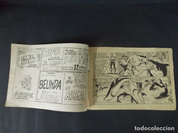 Tebeos: COMIC - EL CHACAL , COLECCION CHEYENE - Nº 12 , RUMBO PERDIDO - MARCO , AÑO 1959 - ORIGINAL .. L403 - Foto 2 - 178354508
