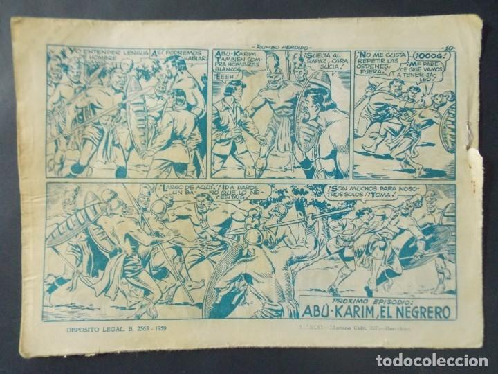 Tebeos: COMIC - EL CHACAL , COLECCION CHEYENE - Nº 12 , RUMBO PERDIDO - MARCO , AÑO 1959 - ORIGINAL .. L403 - Foto 5 - 178354508