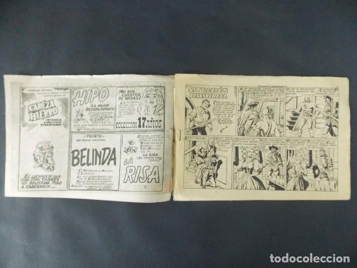 Tebeos: COMIC - EL CHACAL , COLECCION CHEYENE - Nº 11, SITUACION DESESPERADA - MARCO, 1959 - ORIGINAL . L404 - Foto 2 - 178354840
