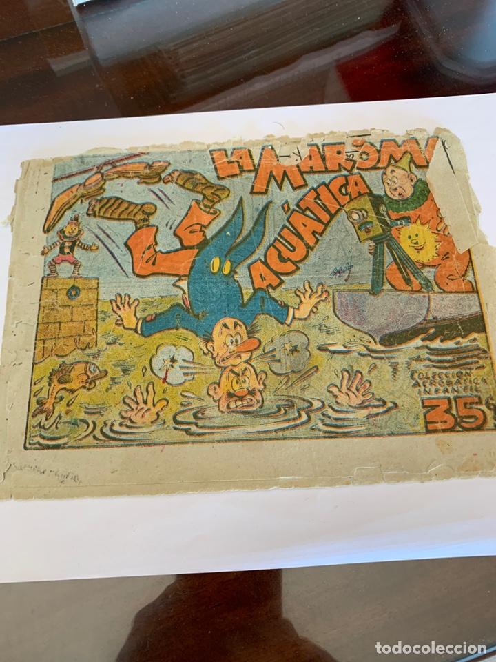 EJEMPLARE INCOMPLETO ACROBÁTICA INFANTIL (Tebeos y Comics - Marco - Acrobática Infantil)