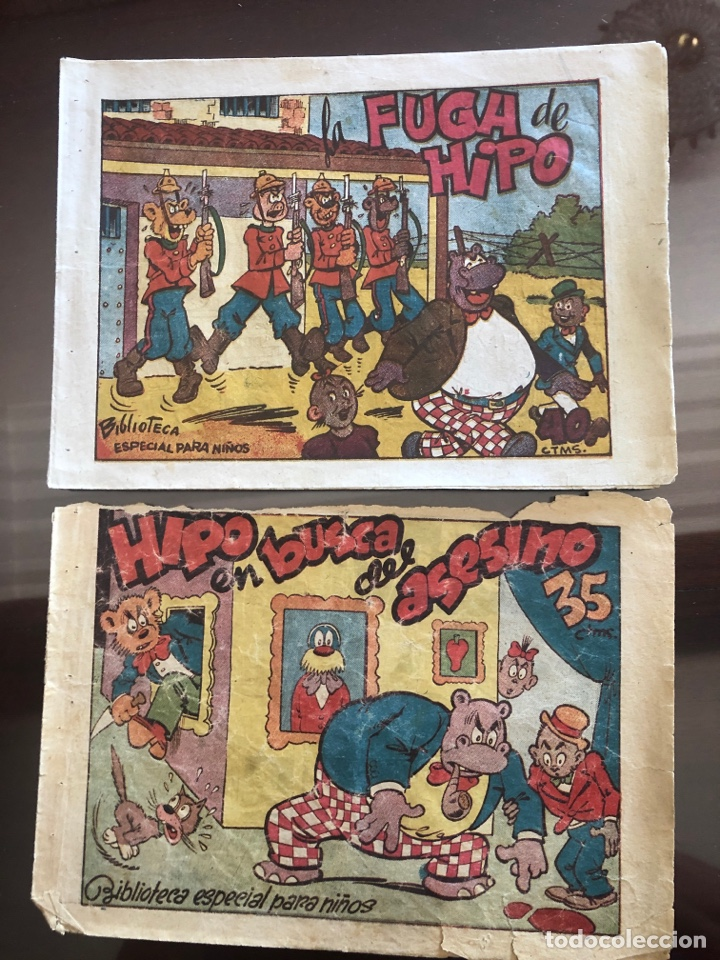 LOTE DE 2 CÓMICS BIBLIOTECA ESPECIAL PARA NIÑOS (Tebeos y Comics - Marco - Hipo (Biblioteca especial))