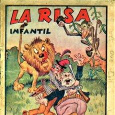Tebeos: LA RISA INFANTIL: ALMANAQUE PARA 1941. Lote 178750917