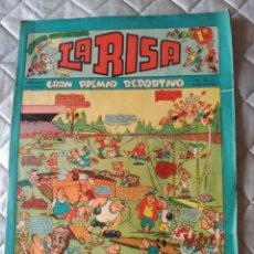 Tebeos: LA RISA, 2ª ÉPOCA, Nº 35, GRAN PREMIO DEPORTIVO. EDITORIAL MARCO, 1953.. Lote 180250690