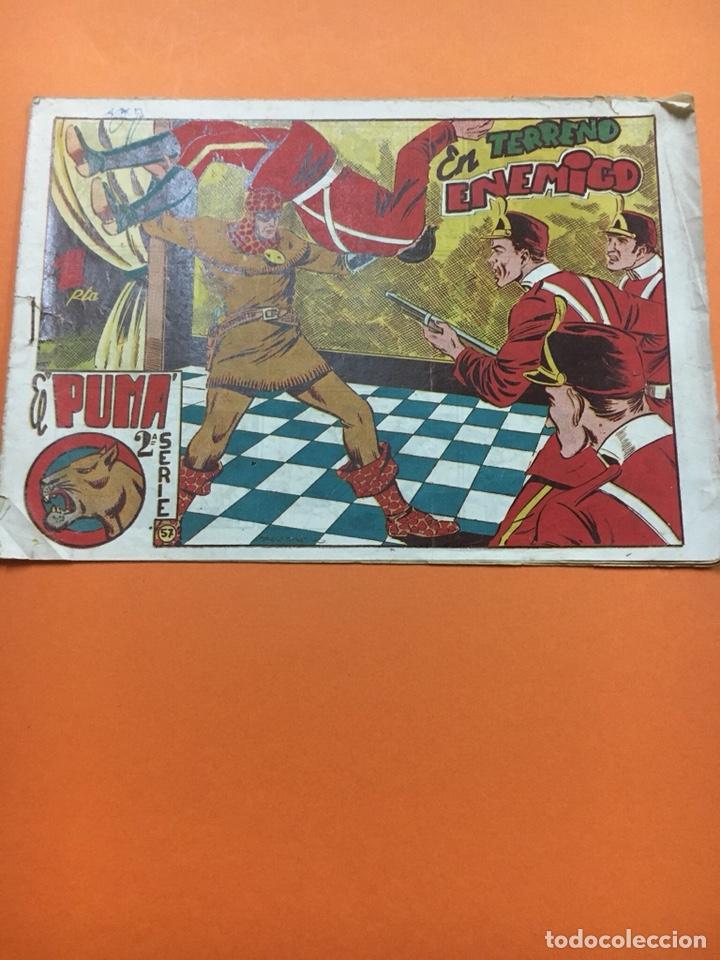 """EL PUMA 2"""" SERIE N """"57 (Tebeos y Comics - Marco - Otros)"""