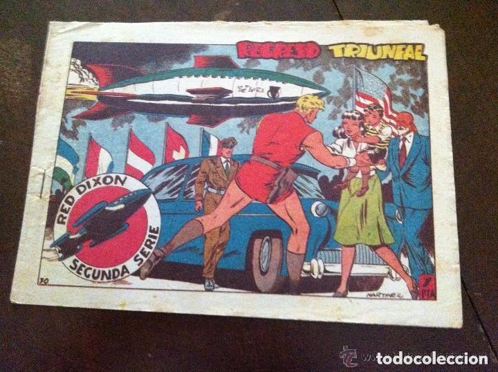 RED DIXON -REGRESO TRIUNFAL (Tebeos y Comics - Marco - Red Dixon)