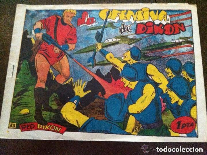 RED DIXON-LA OFENSIVA DE DIXON (Tebeos y Comics - Marco - Red Dixon)