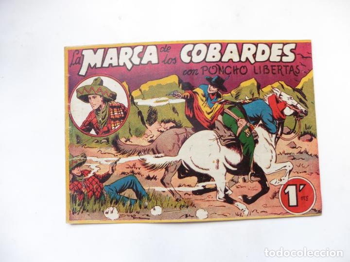 PONCHO LIBERTAS Nº 2 MARCO ORIGINAL (Tebeos y Comics - Marco - Otros)