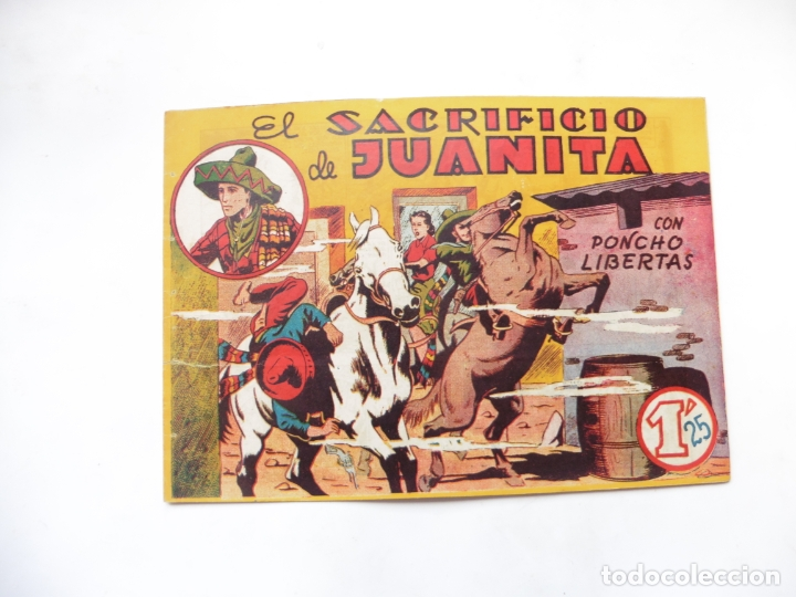 PONCHO LIBERTAS Nº 3 MARCO ORIGINAL (Tebeos y Comics - Marco - Otros)