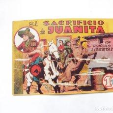 Tebeos: PONCHO LIBERTAS Nº 3 MARCO ORIGINAL. Lote 182279403