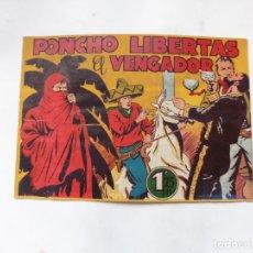 Tebeos: PONCHO LIBERTAS Nº 6 MARCO ORIGINAL. Lote 182279578