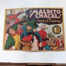 Tebeos: PONCHO LIBERTAS Nº 7 MARCO ORIGINAL. Lote 182279653