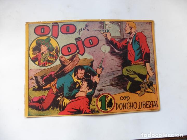 PONCHO LIBERTAS Nº 9 MARCO ORIGINAL (Tebeos y Comics - Marco - Otros)