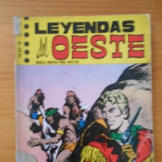 Giornalini: LEYENDAS DEL OESTE Nº 5 - NOCHE DE TERROR - AÑO 1970 (7B). Lote 182351841