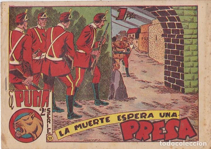 COMIC COLECCION EL PUMA 2ª SERIE Nº 59 (Tebeos y Comics - Marco - Otros)