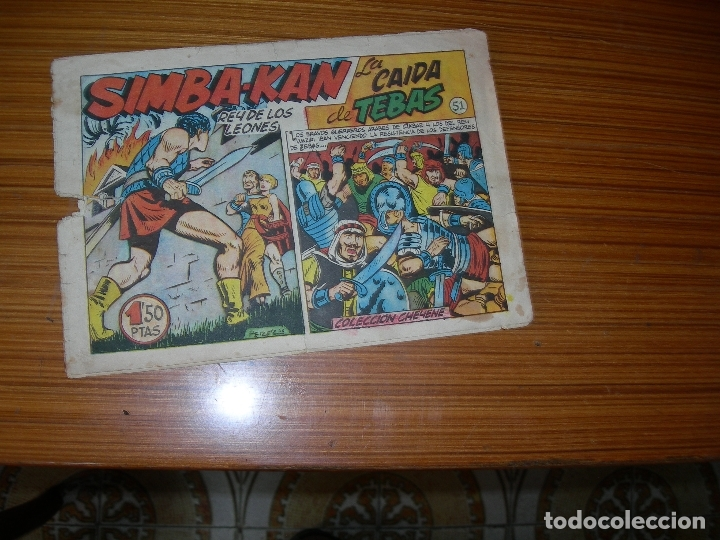 SIMBA - KAN Nº 51 EDITA MARCO (Tebeos y Comics - Marco - Otros)