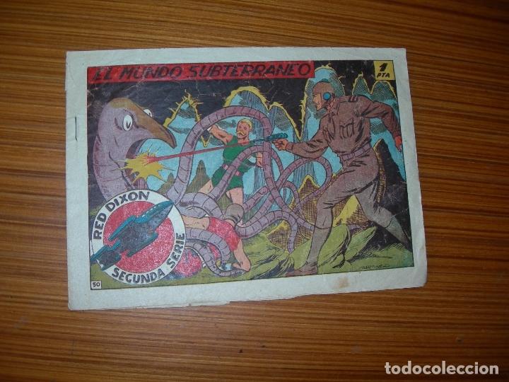 RED DIXON 2ª Nº 50 EDITA MARCO (Tebeos y Comics - Marco - Red Dixon)