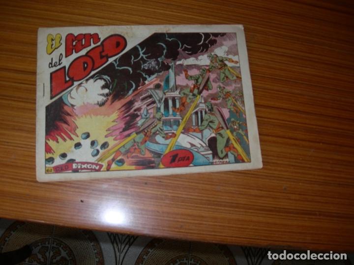 RED DIXON Nº 62 EDITA MARCO (Tebeos y Comics - Marco - Red Dixon)
