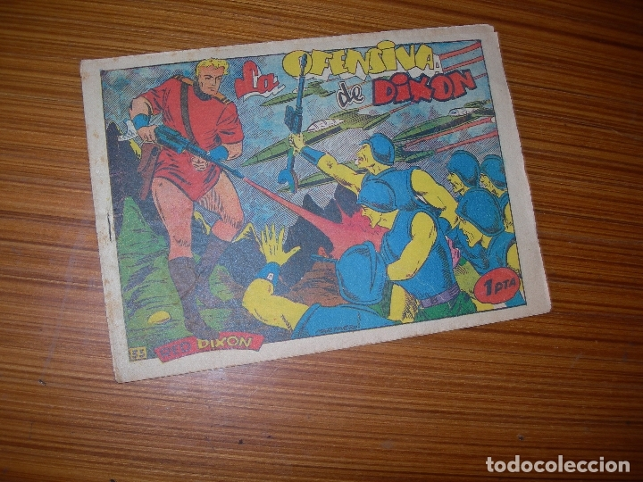 RED DIXON Nº 35 EDITA MARCO (Tebeos y Comics - Marco - Red Dixon)