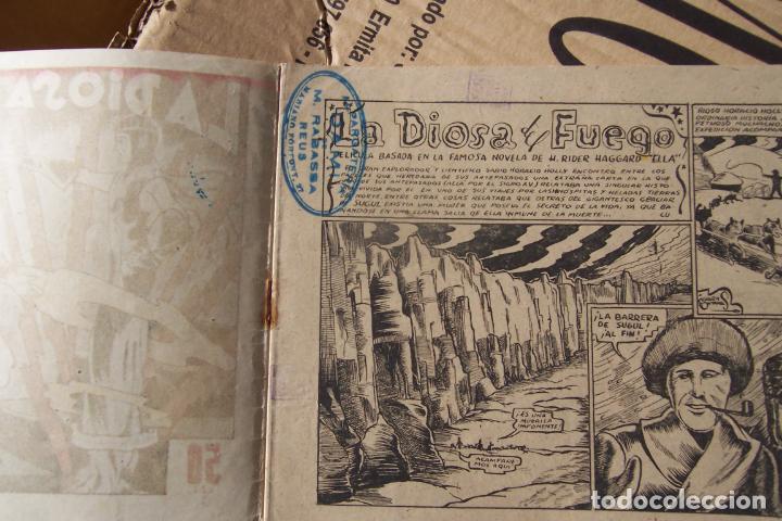 Tebeos: marco,- cine gráfico nº la diosa de fuego - Foto 3 - 183452378