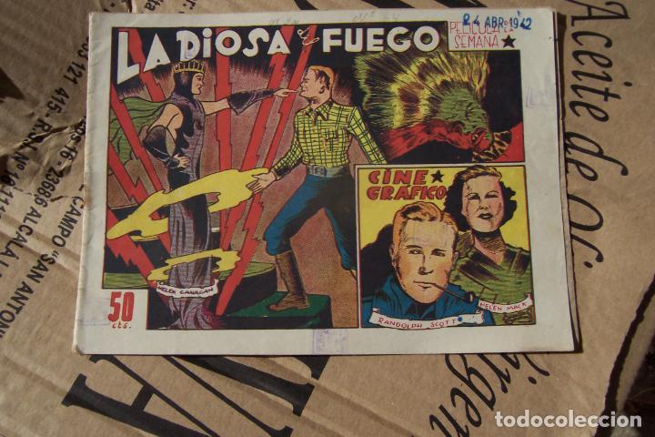 MARCO,- CINE GRÁFICO Nº LA DIOSA DE FUEGO (Tebeos y Comics - Marco - Otros)