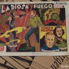 Tebeos: MARCO,- CINE GRÁFICO Nº LA DIOSA DE FUEGO . Lote 183452378