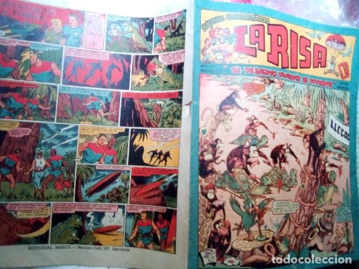 Tebeos: LA RISA - II ÉPOCA- Nº 118 -GRAN FRANCISCO IBÁÑEZ ANTES DE BRUGUERA-RAF-RIZO-1958-DIFÍCIL-2409 - Foto 2 - 184052658
