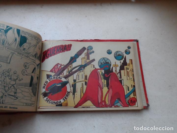 RED DIXON 2º SERIE TOMO CON 74 NUMEROS , FALTAN 22 EDITORIAL MARCO ORIGINAL (Tebeos y Comics - Marco - Red Dixon)