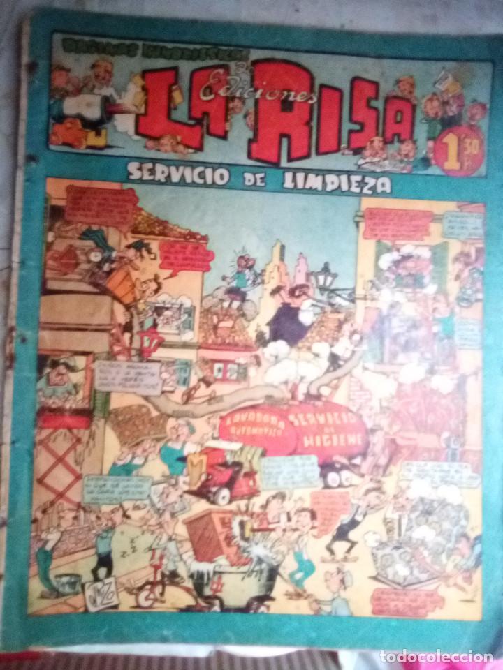LA RISA - II ÉPOCA- Nº 21 -GRANDES EMILI BOIX-MARTÍNEZ OSETE-J. RIZO-1954-CORRECTO-DIFÍCIL-LEAN-2421 (Tebeos y Comics - Marco - La Risa)
